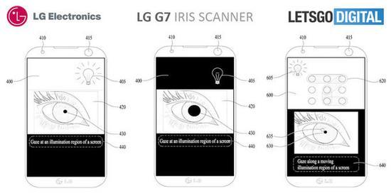 LG虹膜识别专利申请曝光 或在G7上实装